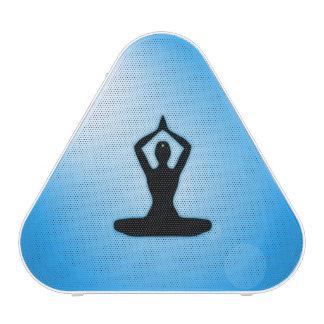 Meditación azul del zen altavoz bluetooth