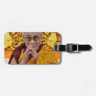 Meditación budista del Buddhism de Dalai Lama Buda Etiquetas Bolsas