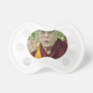 Meditación budista Yog del Buddhism de Dalai Lama Chupetes De Bebe