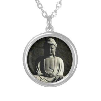 Meditación de Buda Colgante Redondo