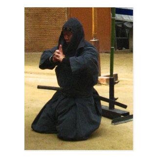 Meditación de Iga Ninja Postal