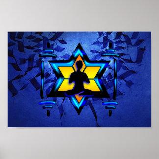 Meditación de Kabbalah Póster