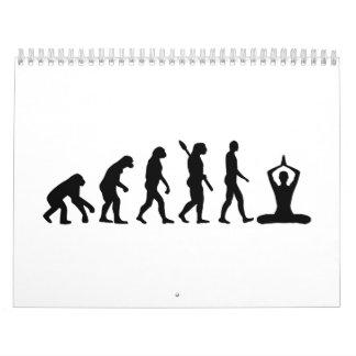 Meditación de la evolución calendarios
