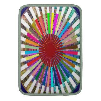 Meditación de la fuente de luz de CHAKRA Fundas MacBook