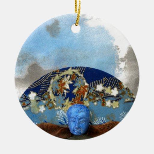 Meditación de la semilla del arce - collage ornamento para reyes magos
