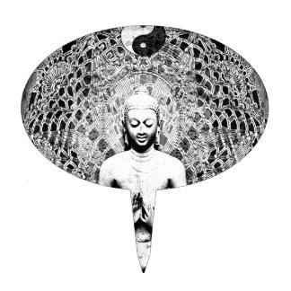 Meditación de la yoga de Kundalini Decoración De Tarta