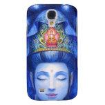 Meditación de medianoche Kuan Yin del zen Funda Para Samsung Galaxy S4