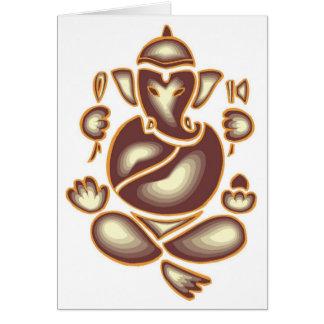 Meditación del elefante de la India Tarjeta-Toda o Tarjeta De Felicitación
