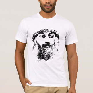 meditación del espiritual de la camiseta de la