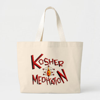 Meditación kosher bolsa de mano
