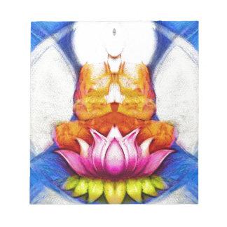 Meditación Lotus Blocs De Papel