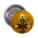 Meditación Pin Redondo 5 Cm
