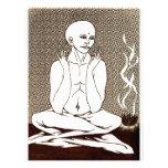 """""""Meditación"""" por E. Lewis Evans Membrete Personalizado"""