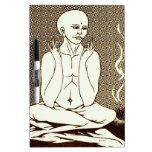 """""""Meditación"""" por E. Lewis Evans Pizarra Blanca"""