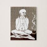 """""""Meditación"""" por E. Lewis Evans Rompecabeza"""