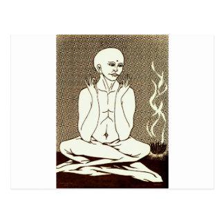 """""""Meditación"""" por E. Lewis Evans Tarjetas Postales"""