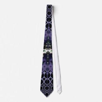 Meditación púrpura corbatas