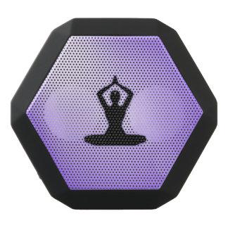Meditación púrpura del zen altavoces bluetooth negros boombot REX