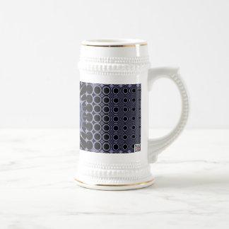 Meditación púrpura tazas de café