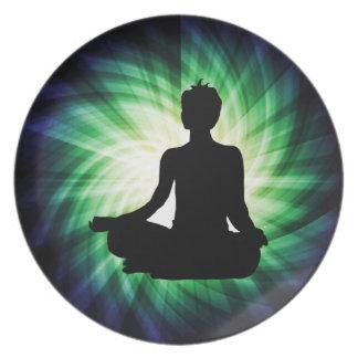 Meditación que brilla intensamente Ardha