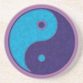 meditación tao del zen de yang del yin posavasos diseño