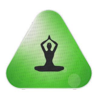 Meditación verde del zen altavoz