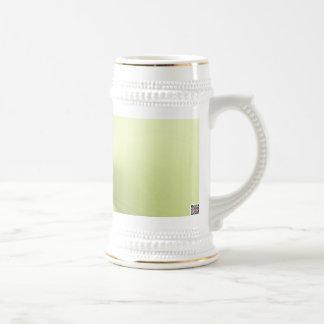 Meditación verde tazas de café