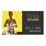 Meditaciones de la salida del sol y espiritual de  plantillas de tarjetas de visita