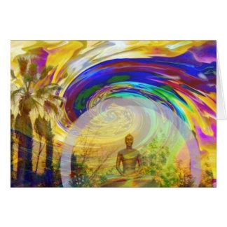 Meditaciones y Colors_ Tarjeta De Felicitación