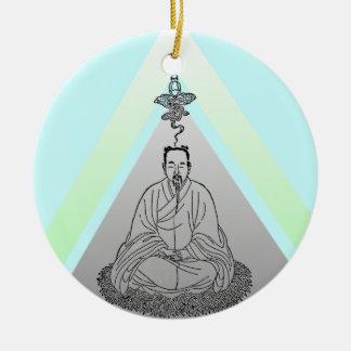Meditate Be Still ornament