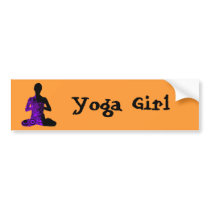 meditate bumper sticker