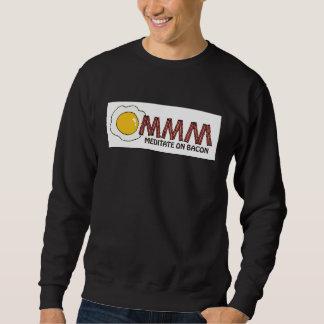 Meditate en el tocino suéter