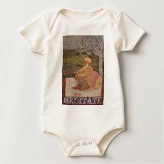 Meditate infant onsie creeper