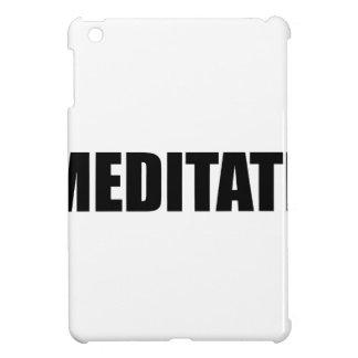 Meditate iPad Mini Covers