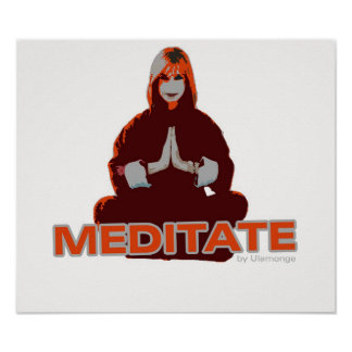 Meditate - Print