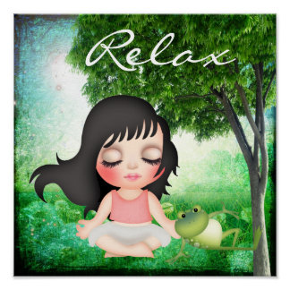 Meditate - SRF Poster