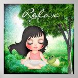Meditate - SRF Print
