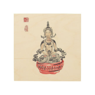 Meditating Amitayus Buddha Wall Art