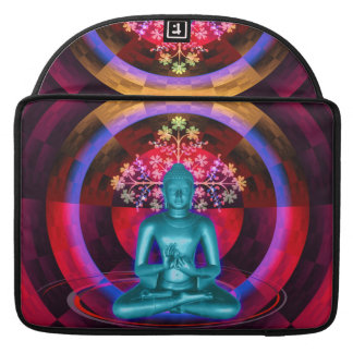 Meditating Blue Buddha MacBook Sleeve MacBook Pro Sleeve