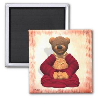 Meditating Buddha Bear