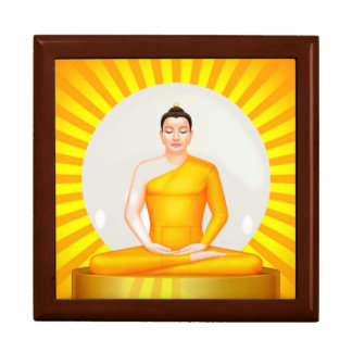 Meditating Buddha gift box