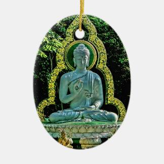 Meditating Buddha Ornament