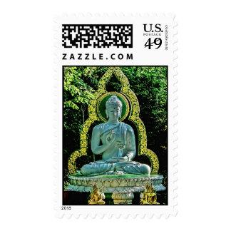 Meditating Buddha Postage