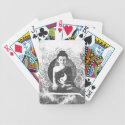 Meditating Buddha with Yin Yang Bicycle Playing Cards (<em>$22.15</em>)