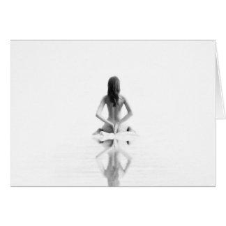 Meditating Card