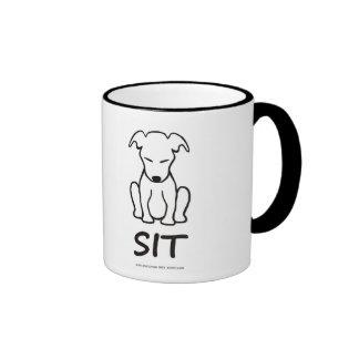 Meditating Dog Mug