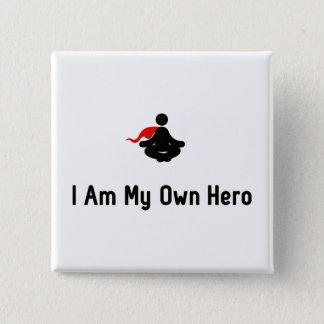 Meditating Hero Button