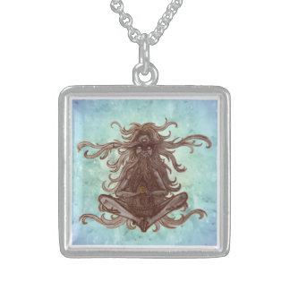 meditating medallion custom jewelry