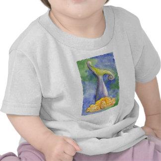 Meditating Mellow Mermaid Tshirts