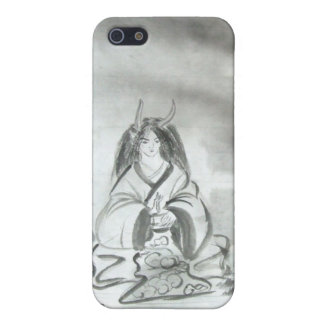 Meditating Oni iPhone Case iPhone 5/5S Covers